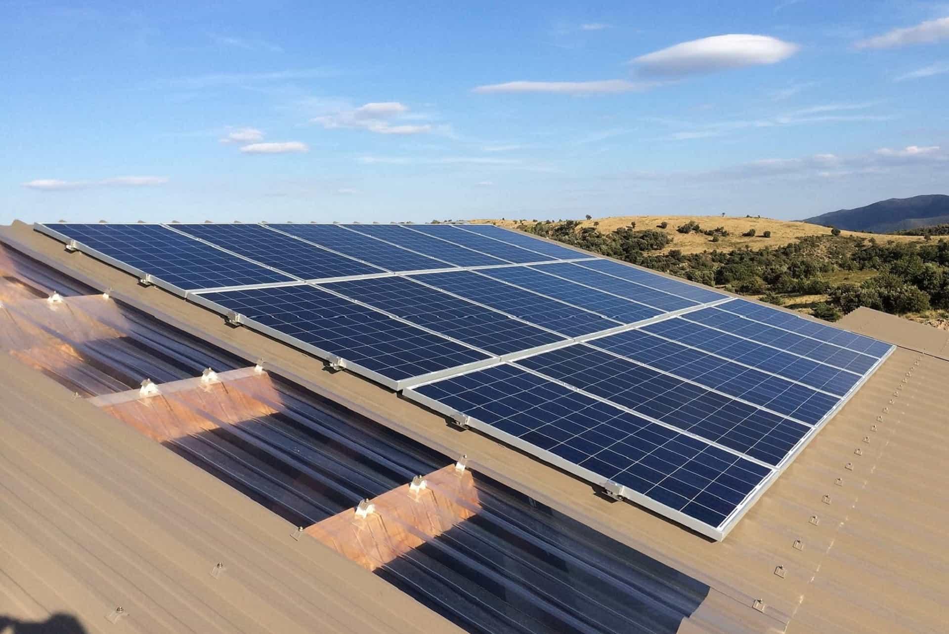 Nettoyage photovoltaïque / Panneaux solaires